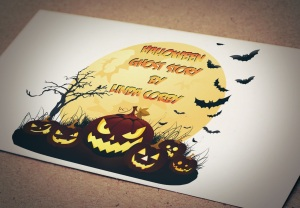 Halloween Ghost story logo